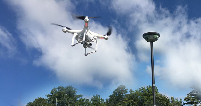 Using Drones for ALTA Surveys