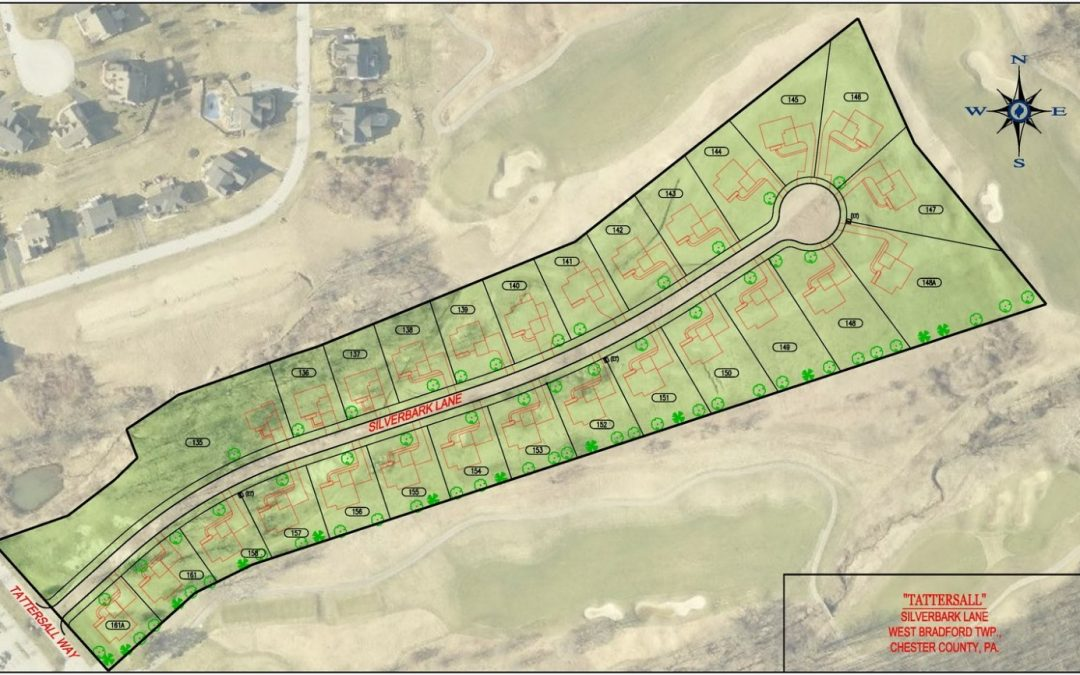 Tattersall by NV Homes DL Howell and Associates Inc – Rustin Walk Site Plan