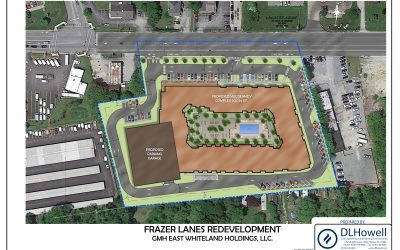 Frazer Lanes Redevelopment Receives Conditional Use Approval