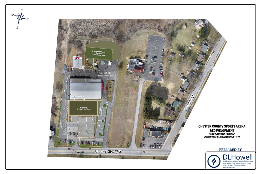 Approval to Expand the Chester County Sports Arena